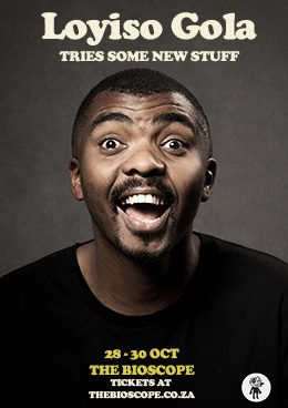 LOYISO GOLA Live at The Bioscope this October