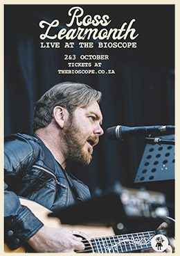 Ross Learmonth live at The Bioscope this October