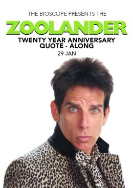 The ZOOLANDER QUOTE-ALONG This January