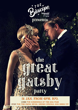 The Great Gatsby Party at The Bioscope