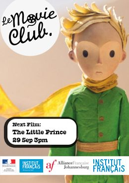 Le Movie Club in September is The Little Prince